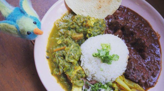 カレー屋さん『Curry & Spice 青い鳥』さんで当園の市田柿が入ったカレーが 2月17日(土)ランチ提供されます